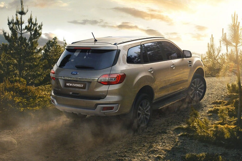 New Ford Everest capability
