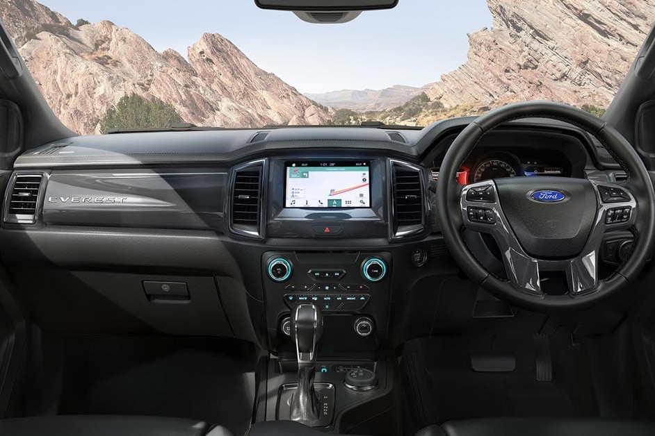 New FOrd Everest technology
